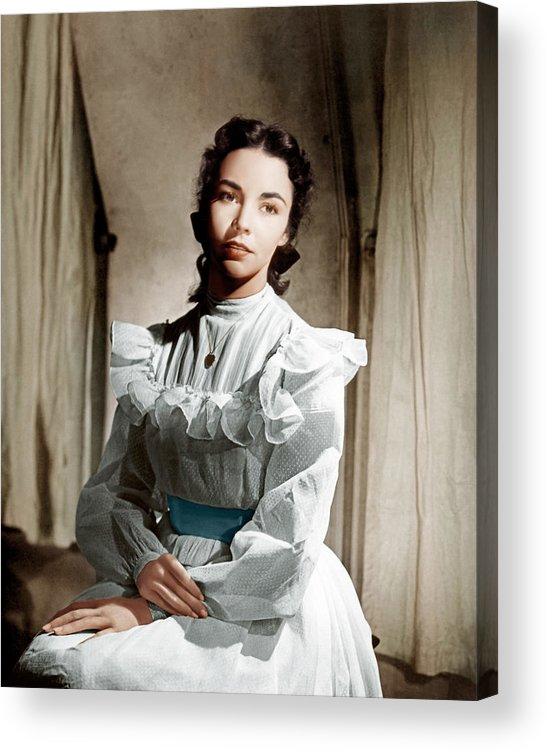 1940s Portraits Acrylic Print featuring the photograph Portrait Of Jennie, Jennifer Jones, 1948 by Everett