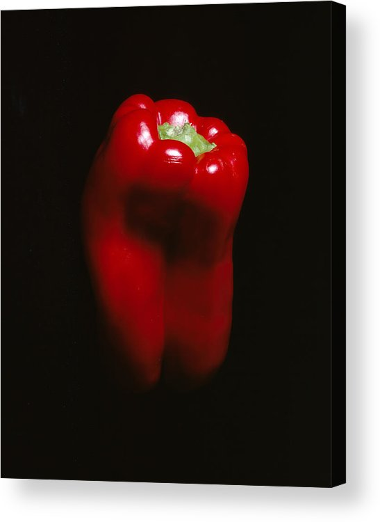 Pepper Acrylic Print featuring the photograph Red Pepper by Jessica Wakefield