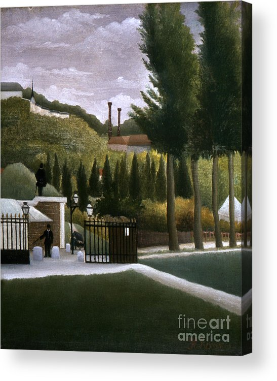1900 Acrylic Print featuring the photograph Rousseau: House, C1900 by Granger