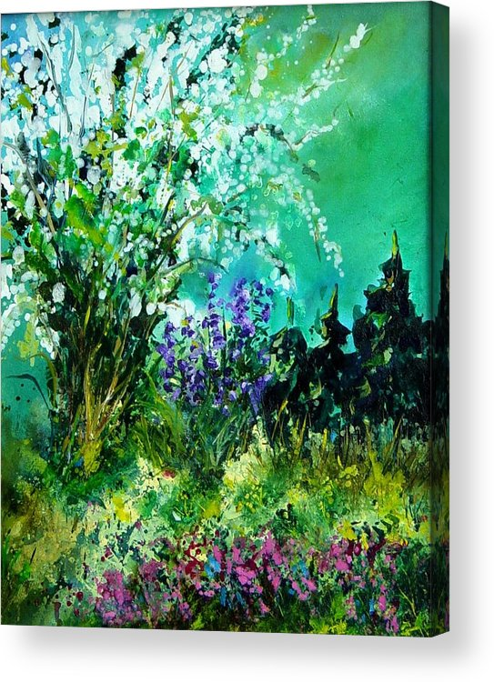 Tree Acrylic Print featuring the painting Seringa by Pol Ledent