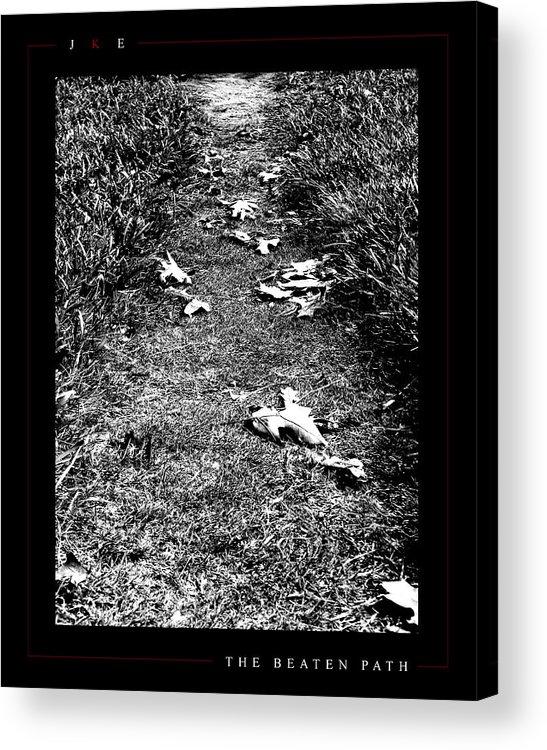 Ksu Acrylic Print featuring the photograph The Beaten Path by Jonathan Ellis Keys