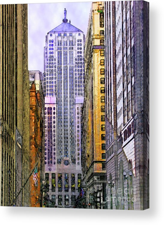 Trading Places Acrylic Print featuring the digital art Trading Places by John Beck