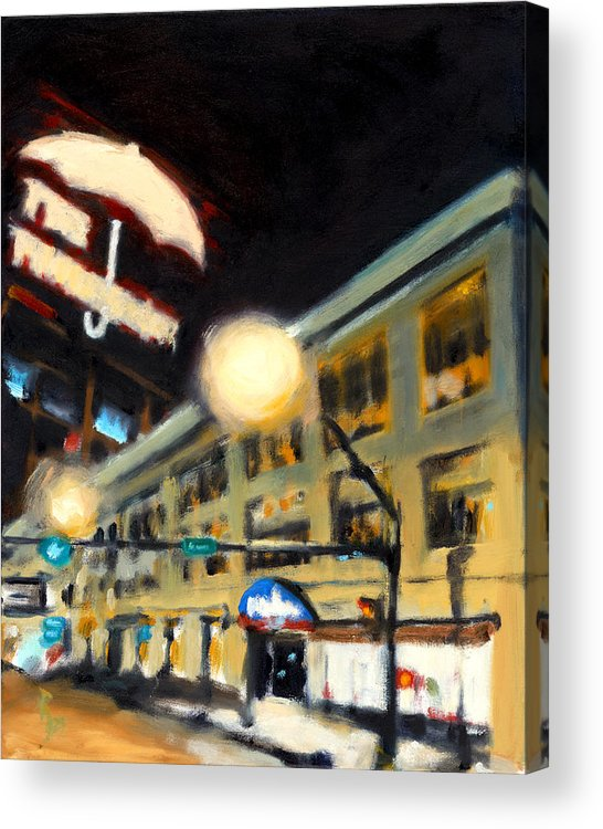 Rob Reeves Acrylic Print featuring the painting Untitled by Robert Reeves