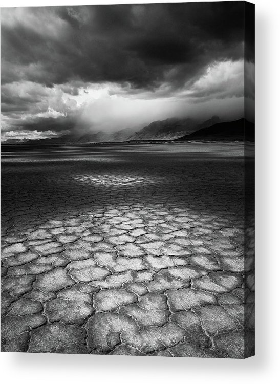 Outdoors Acrylic Print featuring the photograph Desert Storm by Tim Gallivan