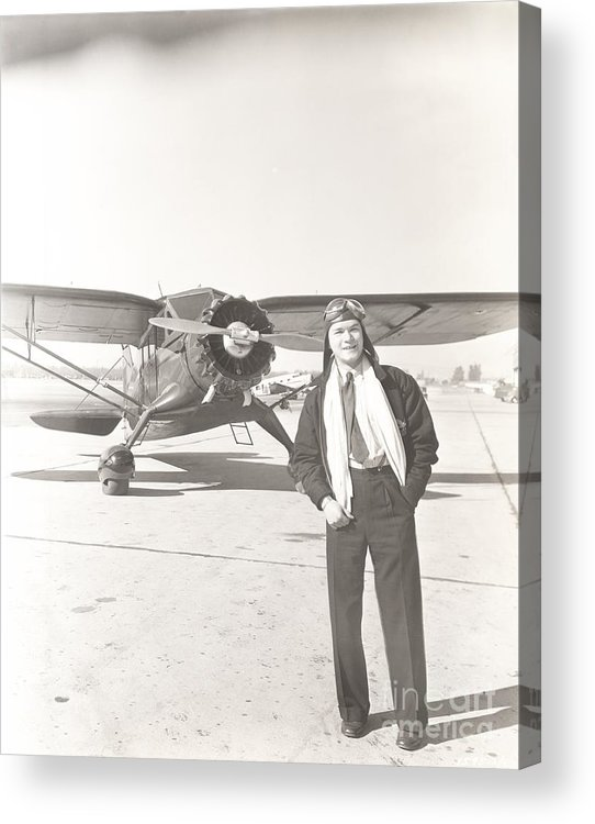 1940s Acrylic Print featuring the photograph Fly Guy by Everett Collection
