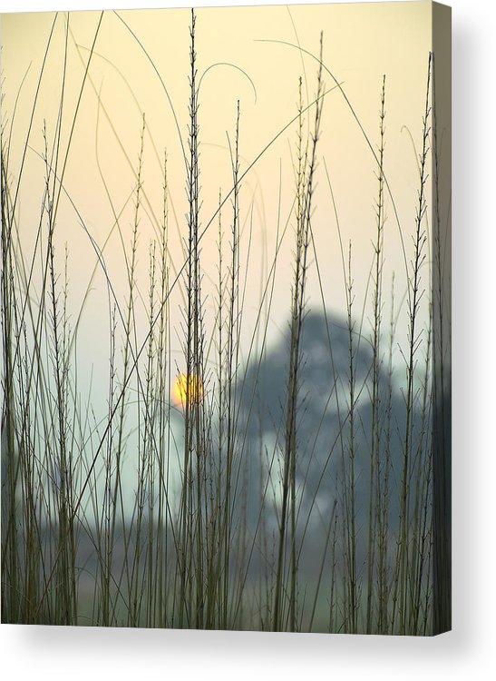 Landscape Acrylic Print featuring the photograph morning Star by Ravi Bhardwaj