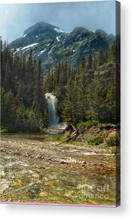Falls Acrylic Print featuring the photograph Serenity Fall by The Stone Age