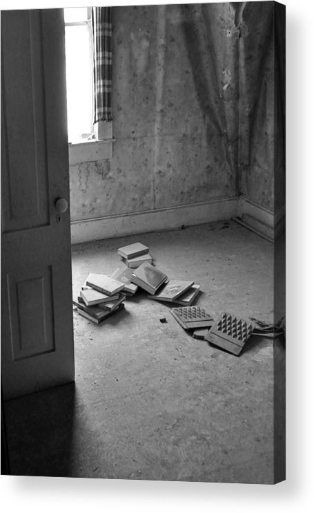 Books Acrylic Print featuring the photograph Untitled 10 by Everett Bowers