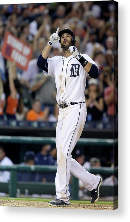 People Acrylic Print featuring the photograph Chicago White Sox V Detroit Tigers by Duane Burleson