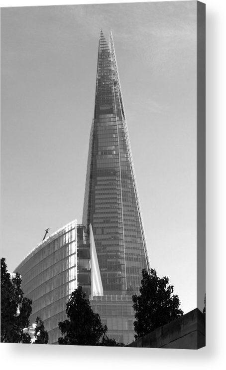 Shard Acrylic Print featuring the photograph The Shard by Chris Day