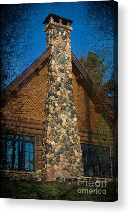 Acrylic Print featuring the photograph Bold Beret by The Stone Age