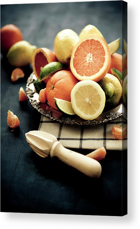 Orange Color Acrylic Print featuring the photograph Citrus by Mmeemil