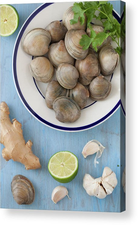Newtown Acrylic Print featuring the photograph Green Curry, Coconut, Garlic & Ginger by Yelena Strokin