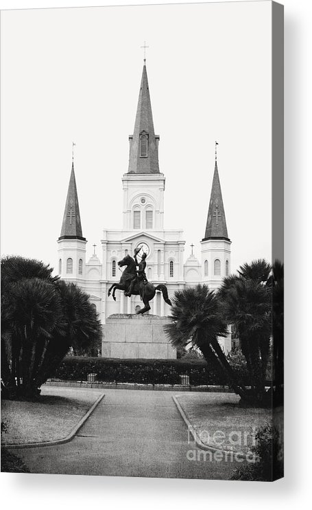 New Orleans Acrylic Print featuring the photograph Heart and Soul of New Orleans by Kim Fearheiley
