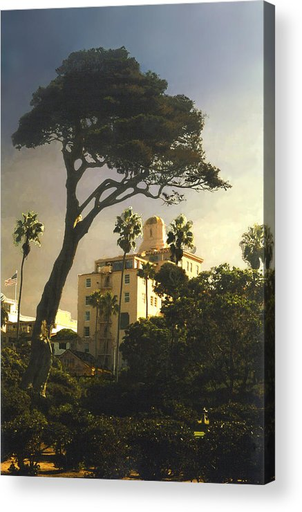 Landscape Acrylic Print featuring the photograph Hotel California- La Jolla by Steve Karol