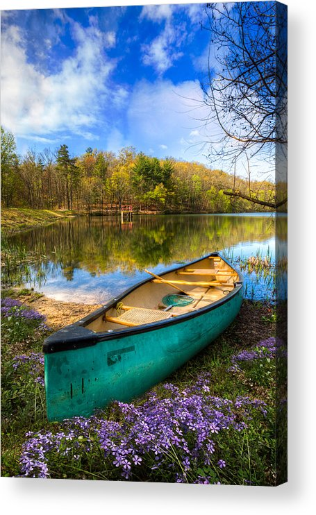 Appalachia Acrylic Print featuring the photograph Little Bit of Heaven by Debra and Dave Vanderlaan