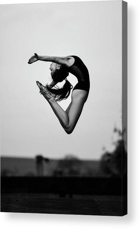 Dance Acrylic Print featuring the photograph No Limits by