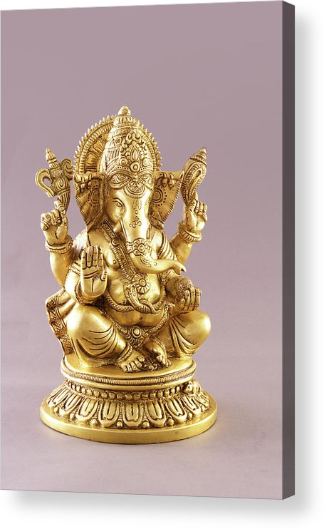 Spirituality Acrylic Print featuring the photograph Statue Of Lord Ganesh by Visage
