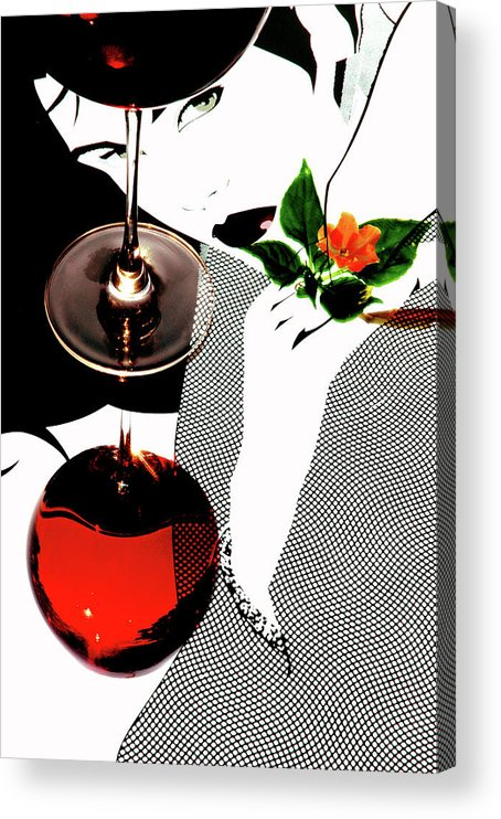 Abstract Acrylic Print featuring the photograph Abstract Reflections by John Banegas