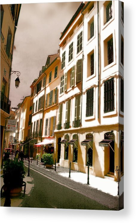 France Acrylic Print featuring the photograph Aix en Provence by Jim Painter