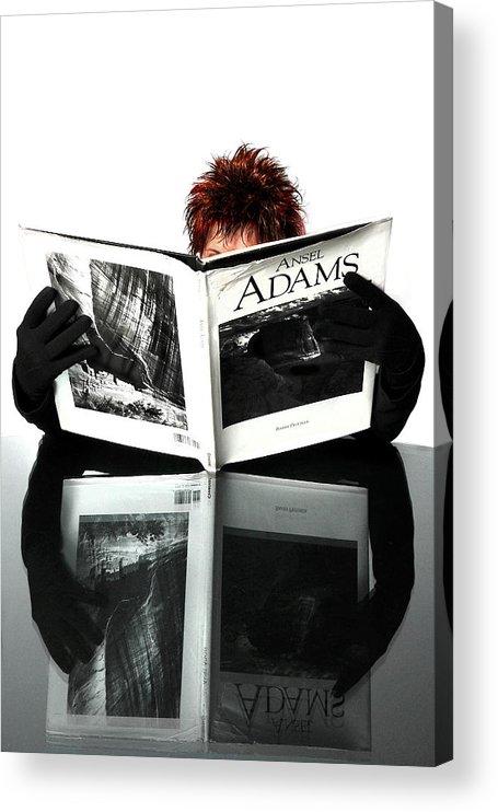 Black And White Photography Acrylic Print featuring the photograph I Love Black and White by John Banegas
