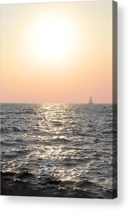 Acrylic Print featuring the photograph Obscured by Adam Blankenship