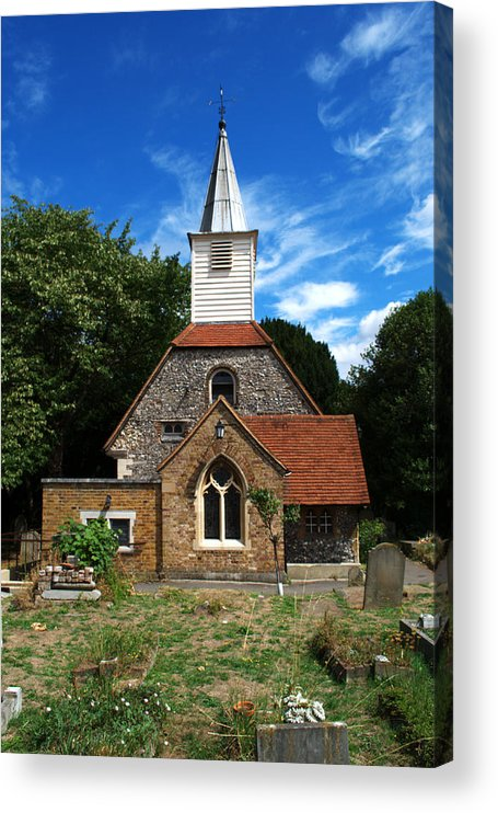 St Laurence Church Acrylic Print featuring the photograph St Laurence Church by Chris Day