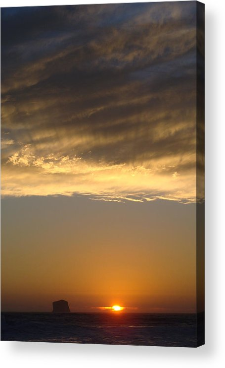 Landscape Acrylic Print featuring the photograph Olympic Sunset by Ty Nichols