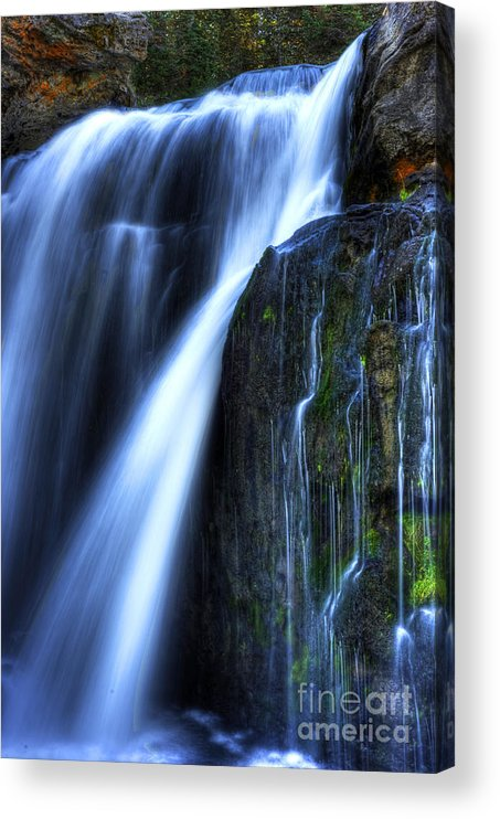 Places Acrylic Print featuring the photograph Crayfish Falls by Dennis Hammer