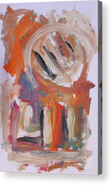 Abstract Acrylic Print featuring the painting Abstract 6833 by Michael Henderson