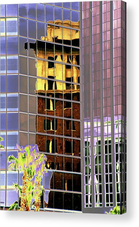 Burned Acrylic Print featuring the photograph Burnt Out Reflection by Richard Henne