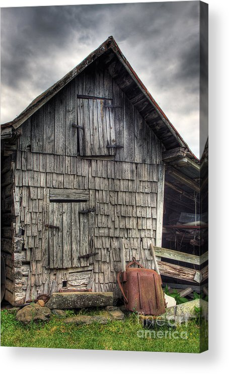 Landscape Acrylic Print featuring the photograph Closed For Business by Pete Hellmann