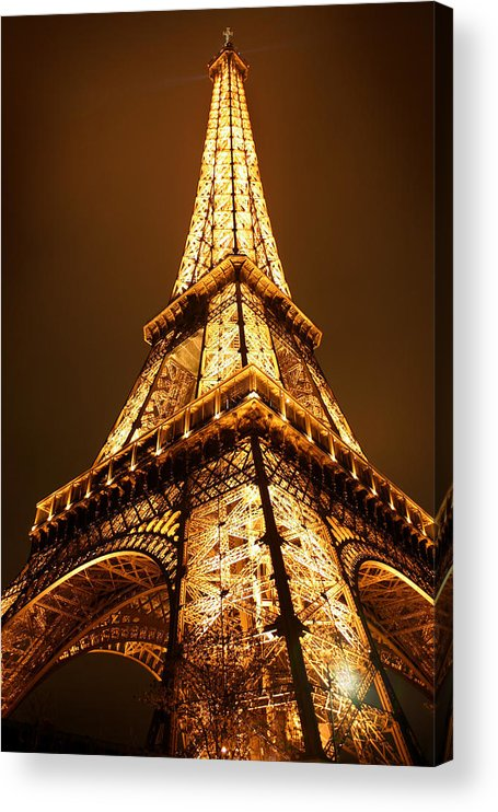 Eiffel Acrylic Print featuring the photograph Eiffel by Skip Hunt