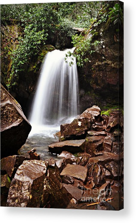 Tennessee Acrylic Print featuring the photograph Falls of Tennessee by Eric Liller