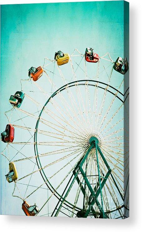 Ferris Wheel Acrylic Print featuring the photograph Ferris Wheel 2 by Kim Fearheiley