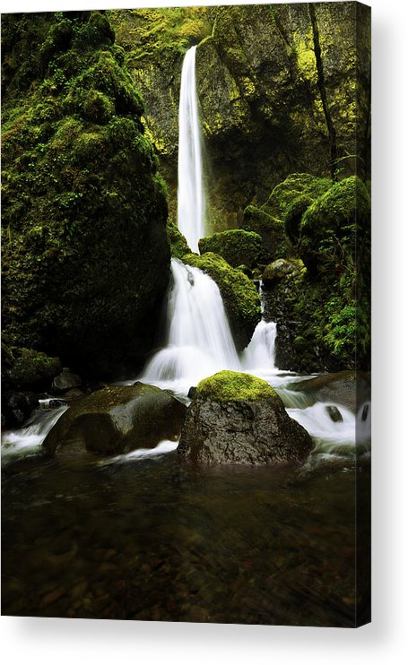Northwest Acrylic Print featuring the photograph Flow by Chad Dutson