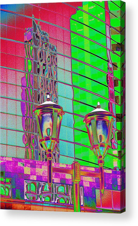 Las Vegas Acrylic Print featuring the photograph Hot Enough to Melt the Buildings by Richard Henne