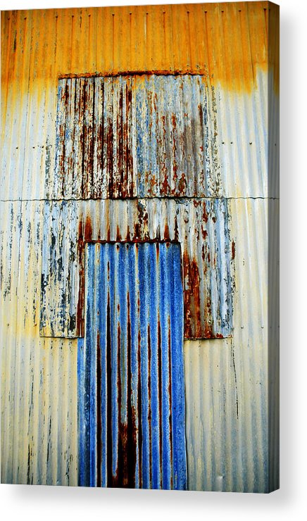 Skip Hunt Acrylic Print featuring the photograph In Through The Out Door by Skip Hunt