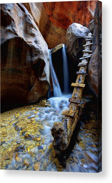 Kanarra Acrylic Print featuring the photograph Kanarra by Chad Dutson