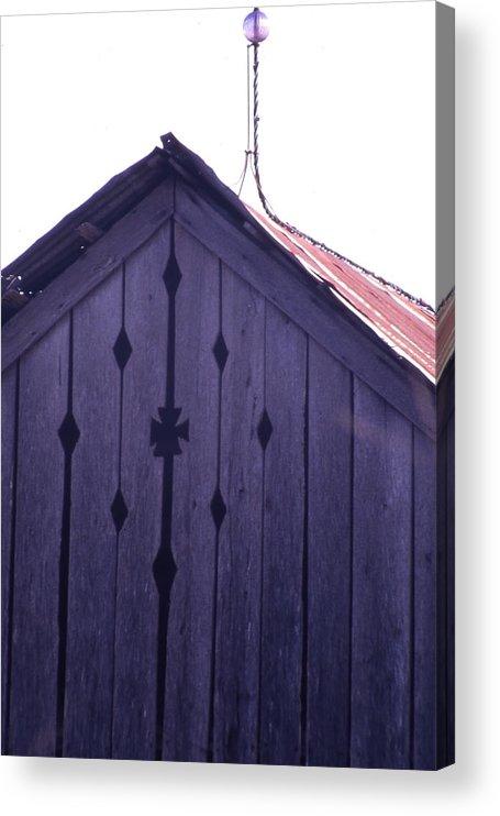 Acrylic Print featuring the photograph Lloyd Shanks Barn by Curtis J Neeley Jr