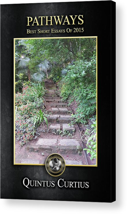 Pathways Acrylic Print featuring the digital art Pathways by Quintus Curtius