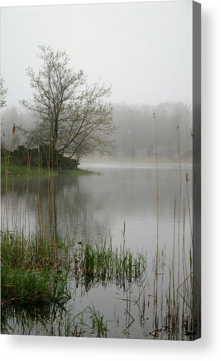 Landscape Acrylic Print featuring the photograph Peaceful by Erika Lesnjak-Wenzel
