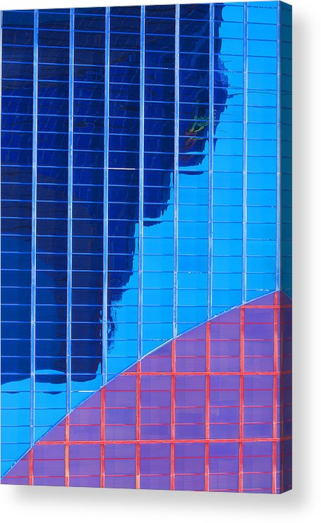 Rio Hotel Acrylic Print featuring the photograph Rio Reflection by Richard Henne