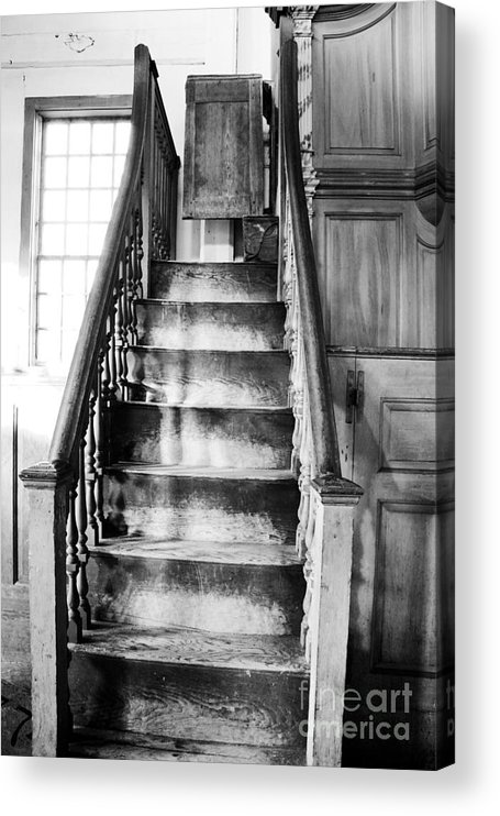 New Hampshire Acrylic Print featuring the photograph Sandown Meetinghouse -Sandown NH USA by Erin Paul Donovan