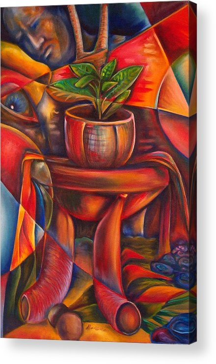 Paintings Acrylic Print featuring the painting Still Life by Horacio Montes
