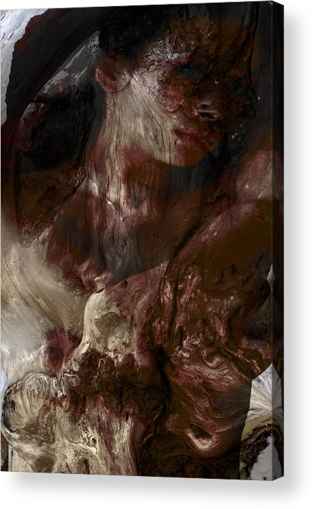 Nymph Acrylic Print featuring the photograph Tree Nymph in the Rockies by Richard Henne