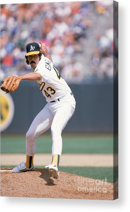 1980-1989 Acrylic Print featuring the photograph Dennis Eckersley by Otto Greule Jr