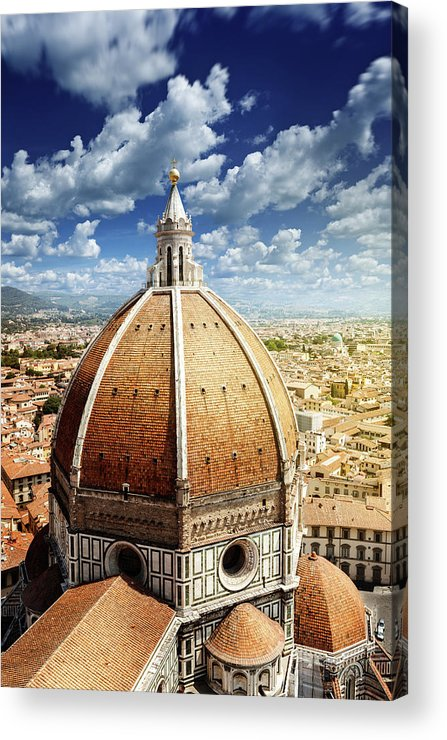 Scenics Acrylic Print featuring the photograph Duomo In Florence by Da-kuk