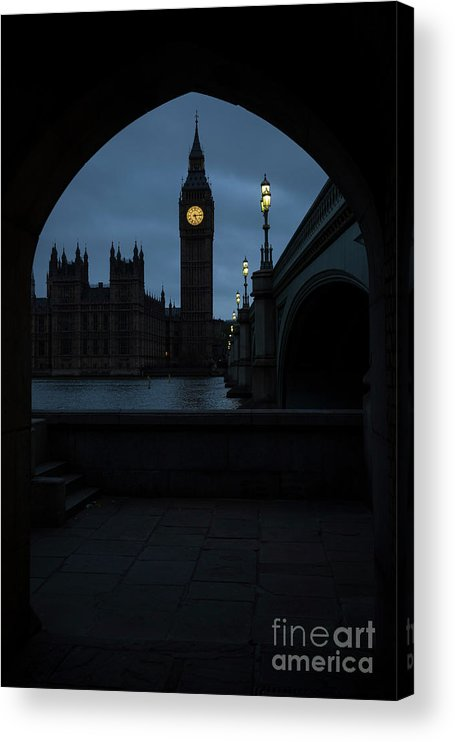 Democracy Acrylic Print featuring the photograph General Election 2015 Week Six by Rob Stothard