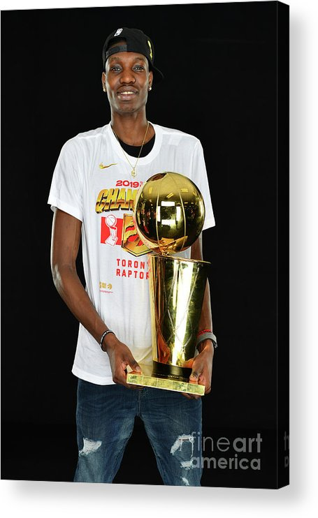 Playoffs Acrylic Print featuring the photograph Nba Finals Portraits by Jesse D. Garrabrant